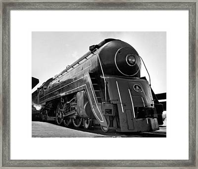 B&o Locomotive, cincinnatian Framed Print by Underwood Archives