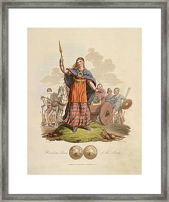 Boadicea Queen Of The Iceni Framed Print