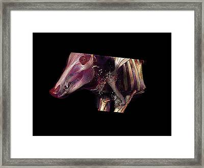 Boar Head Framed Print by Anders Persson, Cmiv