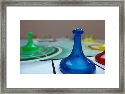 Board Games Framed Print by Dan Sproul