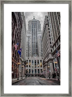 Board Of Trade Framed Print
