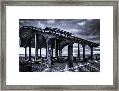 Boardwalk Brooklyn08 Framed Print by Svetlana Sewell