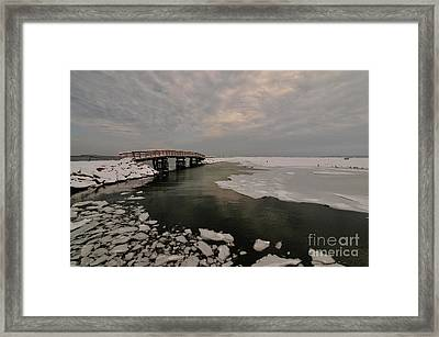 Boardwalk Framed Print by Catherine Reusch Daley