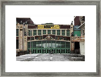 Boardwalk Colors Framed Print by John Rizzuto