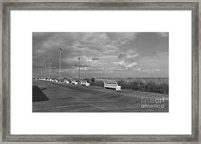Boardwalk Memories Framed Print by Arlene Carmel