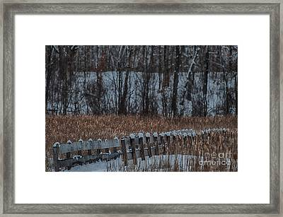 Framed Print featuring the photograph Boardwalk Series No2 by Bianca Nadeau