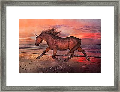 Boasting Beautiful Framed Print