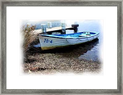 Boat 78-4 Framed Print by Ian  Ramsay
