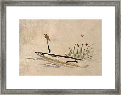 Boat Framed Print by Aged Pixel