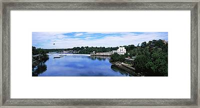 Boat House Row And Fairmount Water Framed Print