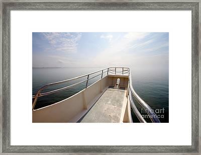 Boat Prow Framed Print by Tim Holt