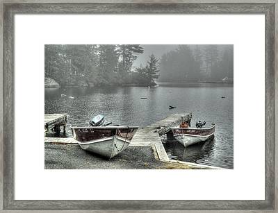 Boat Rental Framed Print