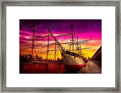 Boat - Sailing - Fleet Week Framed Print