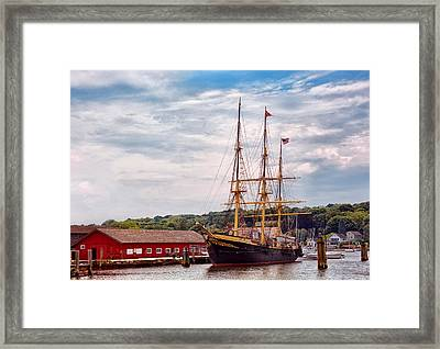 Boat - Sailors Delight Framed Print by Mike Savad