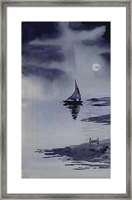 Boat Framed Print by Sam Sidders
