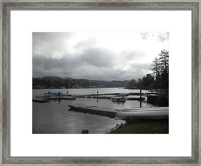 Boat Time Framed Print