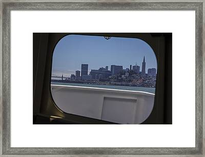 Boat To San Fransico  Framed Print by John McGraw
