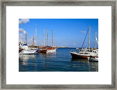 Boating Experience 1 Framed Print