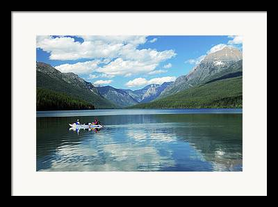Serene Setting Framed Prints