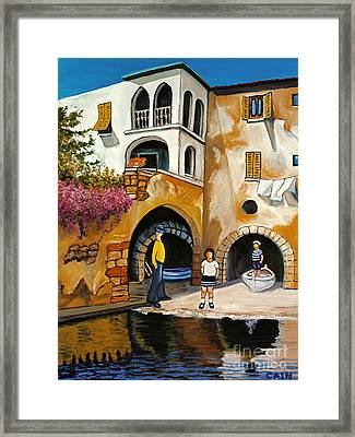 Boatman Framed Print
