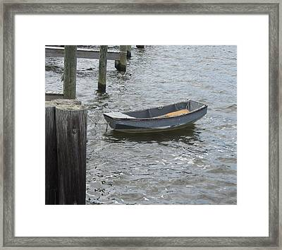 Framed Print featuring the photograph Boats And More Boats 3 by Cathy Lindsey