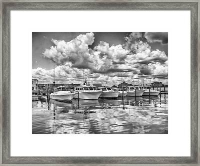 Boats Framed Print by Howard Salmon