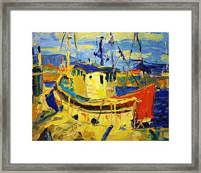 Boats II Framed Print by Brian Simons