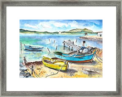 Boats In Gruissan Framed Print