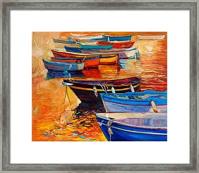 Boats Framed Print by Ivailo Nikolov