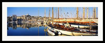 Vieux Port Framed Prints