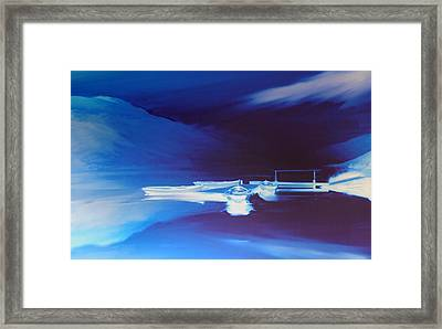 Boats On Bala Framed Print