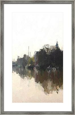 Boats Framed Print by Steve K