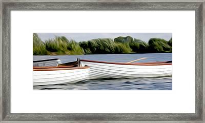 Boats Framed Print by Stefan Petrovici
