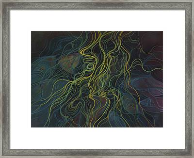 Boats Tangled In Milfoil Framed Print