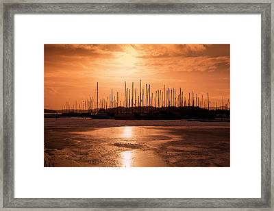 Boats Framed Print by Thomas Berger