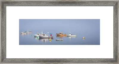 Framed Print featuring the photograph Boats  by Trace Kittrell