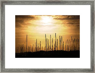 Boats2 Framed Print by Thomas Berger
