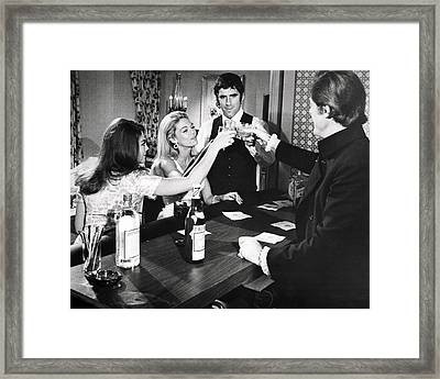 Bob & Carol & Ted & Alice  Framed Print by Silver Screen