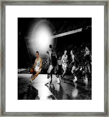 Bob Cousy II Framed Print by Brian Reaves