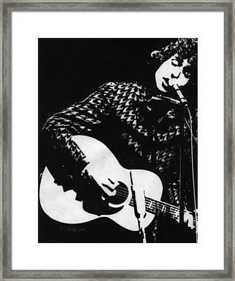Bob Dylan 1966 Framed Print