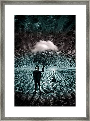 Bob Dylan A Hard Rain's A-gonna Fall Framed Print by Mal Bray