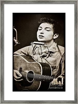 Bob Dylan Framed Print