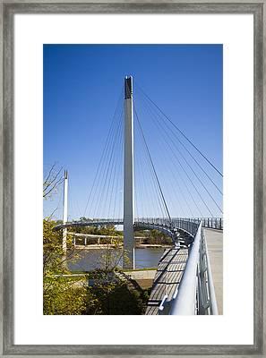Bob Kerrey Pedestrian Bridge Framed Print