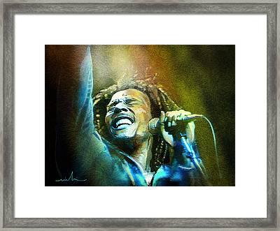 Bob Marley 06 Framed Print