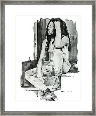 Bob Marley 10 Framed Print