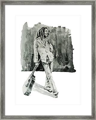 Bob Marley 3 Framed Print