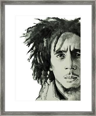 Bob Marley 6 Framed Print