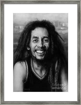 Bob Marley Framed Print by Andre Koekemoer