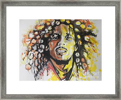 Bob Marley 02 Framed Print by Chrisann Ellis