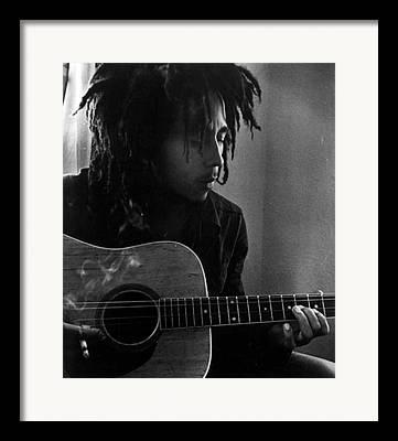 Rastafarian Framed Prints